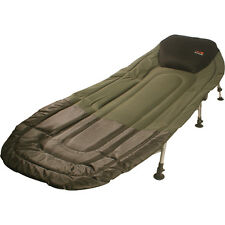 TF Gear NEW Chill Out 3 Leg Lightweight Padded Carp Fishing Bedchair Ex Demo