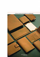 PUBLICITE  ADVERTISING  1980   DUPONT   boutique maroquinerie cuir
