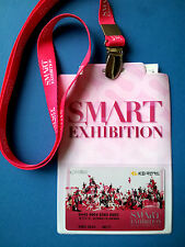 SM ART SMART Exhibition Admission Card with string (SNSD Super junior FX..) Rare