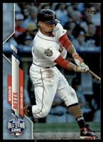 2020 Update Base Rainbow Foil #U-268 Mookie Betts - Boston Red Sox