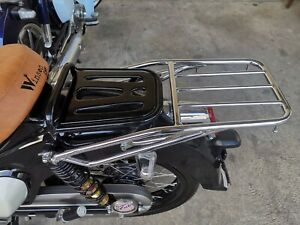 Honda C125 JA48 Super cub 125 2018 Rear Luggage Rack Chrome