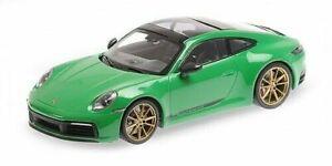 Porsche 911 (992) Carrera 4S 2019 Neuf Minichamps 155067325 1:18