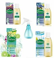 4 PACK Zoflora Concentrated Disinfectant 120ML WITH  SPRAY BOTTLE