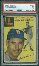1954 Topps 250 Ted Williams PSA 1 (0056)