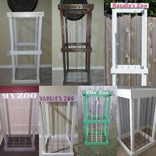 """Stuffed Animal Storage """"zoo"""" / toy storage - Wood"""