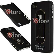 Cover Custodia Metallo Metal Nero Per Apple iPhone 4/4G/4S + Pellicola