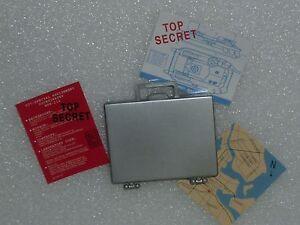 Ken Silver Attaché Briefcase & Secret Documents ~ Newly Unboxed