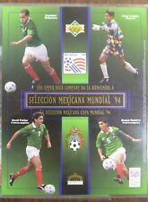 (1) 1994 Upper Deck Mexico World Cup Commemorative Sheet /10000