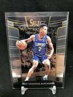 SHAI GILGEOUS-ALEXANDER 2018-19 Select #7 ROOKIE CONCOURSE RC Oklahoma City T32
