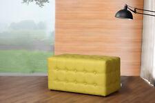 Sitzwürfel Sitzhocker Sitzbank Fußhocker Leder modernes Design Rossi Furniture