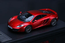 McLaren MP4-12C **Mercury Red**  -- HPI #8861  RESIN 1/43
