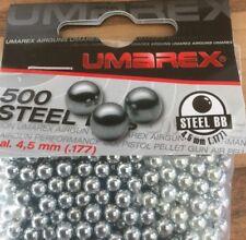 UMAREX BAG OF 500 POLISHED STEEL BB 4.5MM
