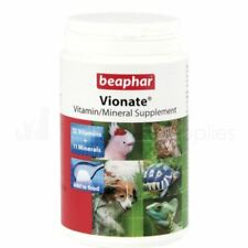 Beaphar Vionate - Vitamin Mineral Powder Supplement Dogs Cats Pets 120g