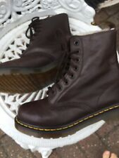 Doc Martens Serena Ladies Boot Brown Leather Faux Fur Lined Uk3/36 1460 8hole