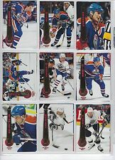 1994/95 PINNACLE SERIES 1 BASE HOCKEY SET 1-270
