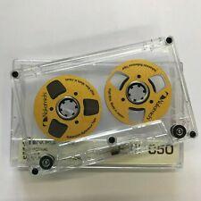 Nakamichi Audio Tape Gold handmade Reel to Reel Cassette Cassettes Tapes