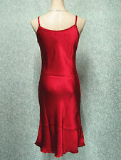 US Ladies Nightwear Long Satin Chemise Babydoll Night Dress Gown Nightgown