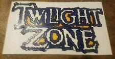 Twilight Zone Pinball Playfield Repair Decal - Sticker Brand New