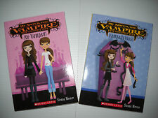 NEW My Sister the Vampire Books 3 and 4: Re-Vamped! and Vampalicious (paperback)