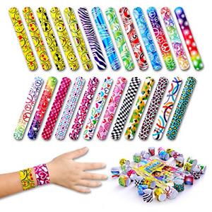 Giraffe - Slap Bracelets For Kids - Snap Bracelet Party Favors 50-Pack