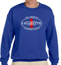 Cigarette Racing Team The Offshore Legend  Blue Sweater Size S-3 XL