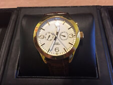 Timepieces by Randy Jackson SPORT Men's Watch WRJ10060MA02HS Gold tone Stainless