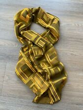 Vintage 1990s Tom Ford Gucci Rayon Silk Geometric Scarf