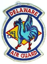 Vintage USAF 142nd Tactical Air Squadron Delaware Air Guard Patch U.S. Air Force