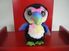 Ty Beanie Boos BEAKS the toucan 6 inch  NWMT.  IN STOCK NOW.