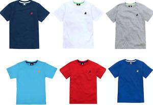 Kids T-Shirt Top Boys/Girls Unisex Short Sleeves CARGO BAY Crew Neck,2 4. 6 8 10