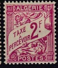 ALGERIE Taxe 10 - Neuf** sans charniere