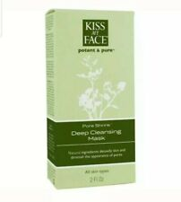 Kiss My Face Potent & Pure Pore Shrink Deep Cleansing Mask 2 fl oz Cream