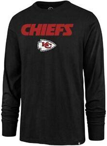 Kansas City Chiefs Men's Pregame Super Rival Long Sleeve Shirt - Black