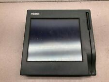 Used Micros 100-240 Vac User Workstation 3 Touch System Credit Card Terminal 400