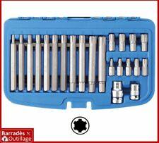 Coffret Embouts cannelés/Ribe - pour véhicules groupe Fiat, VAG - 23 pièces