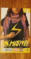 Ms. Marvel 1 3rd Print Kamala Khan Very HTF NM-