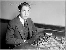 Photo: Cuban World Chess Champ Jose R. Capablanca, 1916