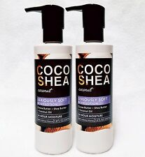 2 Bath & Body Works COCO SHEA COCONUT Seriously Soft Body Hand Lotion 24HR
