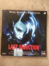 LASER DISC LAST SEDUCTION ( LINDA FIORENTINO )