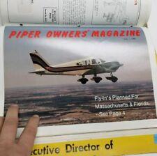 1988-1989 Aviation Magazines Piper Owners Magazine & Cherokee Pilots Association