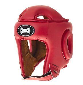 ABVERKAUF: Kopfschutz rot C182-R SONDERAKTION, Headguard red   Kickboxen