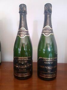 Champagne MARIE-NOELLE LEDRU Brut ed Extra Brut  (etichette leggermente usurate)