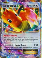 ULTRA RARE Dragonite EX 72/108 Pokemon XY Evolutions Holo Rare Holographic - LP