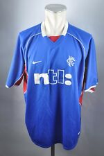 Glasgow Rangers Trikot 2001-2001 Jersey Gr. XL Nike NTL blau Shirt
