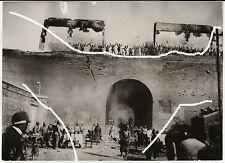 19x14cm ORIG vintage foto di archivio 1937 la Cina Giappone Guerra Taiyuan WWII wk2 PHOTO