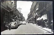 MEXICO~1950's PUEBLA~CALLE DEL 5. DE MAYO ~DOWNTOWN~ Real Photo PC  RPPC