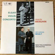 ASD 2259 Elgar Violin Concerto / Yehudi Menuhin / Boult NPO S/C