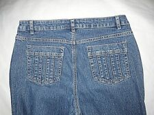 Liz Claiborne Womens Jeans Size 10 Classic Boot Cut 5 Pocket Medium Wash