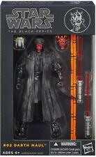 FIGURA STAR WARS THE BLACK SERIES #02 DARTH MAUL, PRECINTADA EN SU BLISTER.