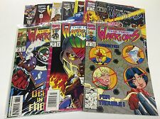 THE NEW WARRIORS #35-57 (MARVEL/NICIEZA/TV SHOW COMING/0816232) SET LOT OF 10